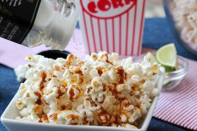 Salt on Popcorn