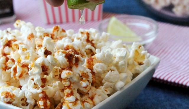 Lime Juice on Popcorn