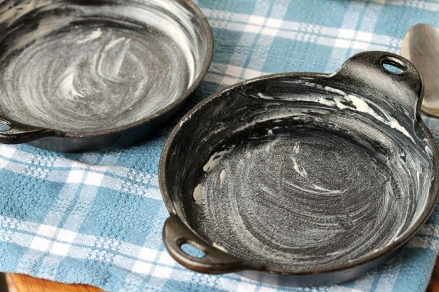 Grease Pans with Butter
