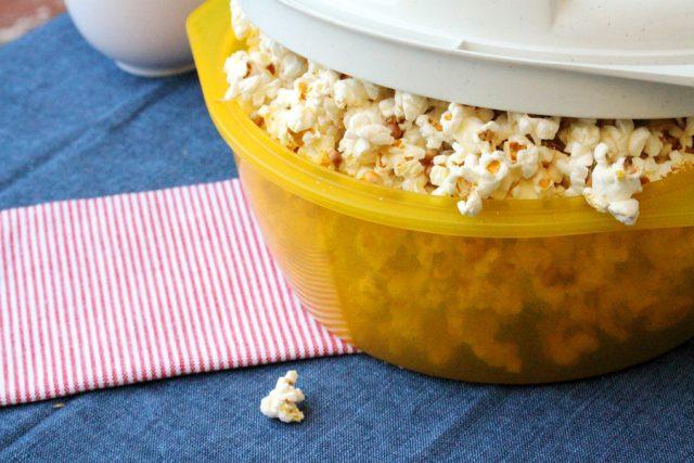Popcorn in Popcorn Popper