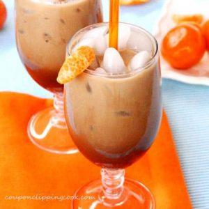 Mandarin Orange Cafe Mocha