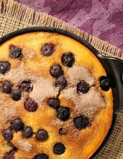 Blueberry Cinnamon Cornbread