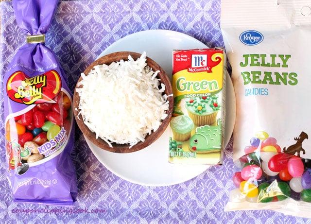 Jelly Bean cupcake toppings