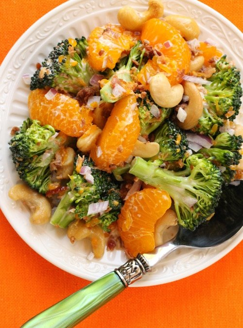 Broccoli and Mandarin Orange Salad