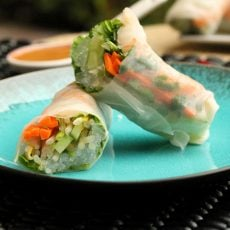 Fresh Spring Rolls Shrimp