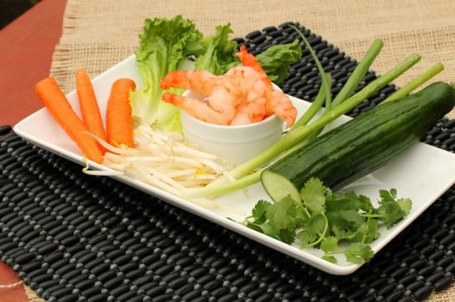 Shrimp Spring Roll Ingredients