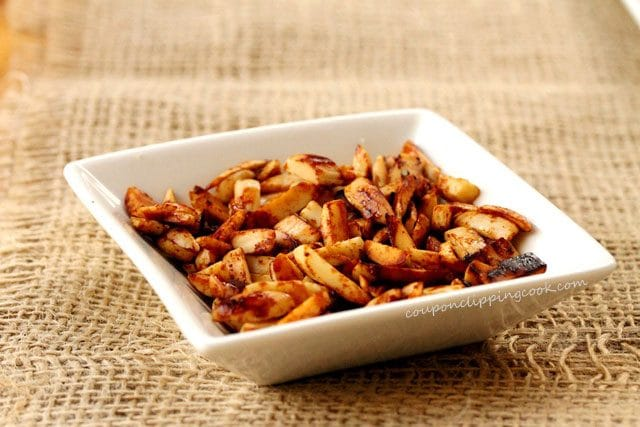 Toasted Almonds in Bowl