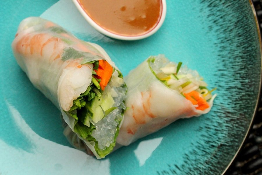 Shrimp Spring Rolls | Coupon Clipping Cook