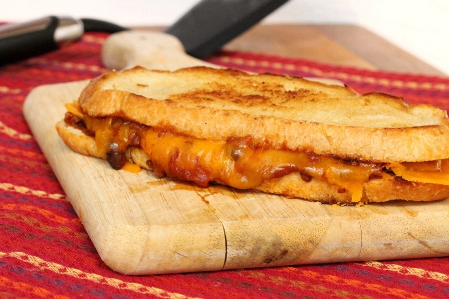 Grilled Chili-Cheese Spread Sandwiches Recipe — Dishmaps