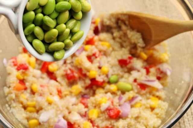Add Edamame in Salad
