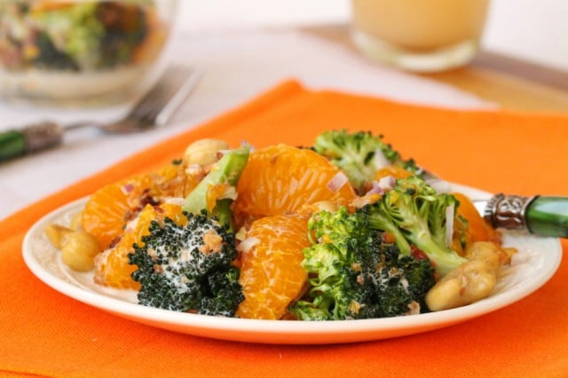 Broccoli Mandarin Orange Salad
