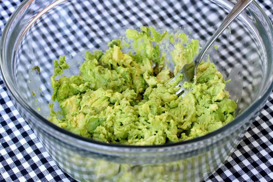 5 mash avocado