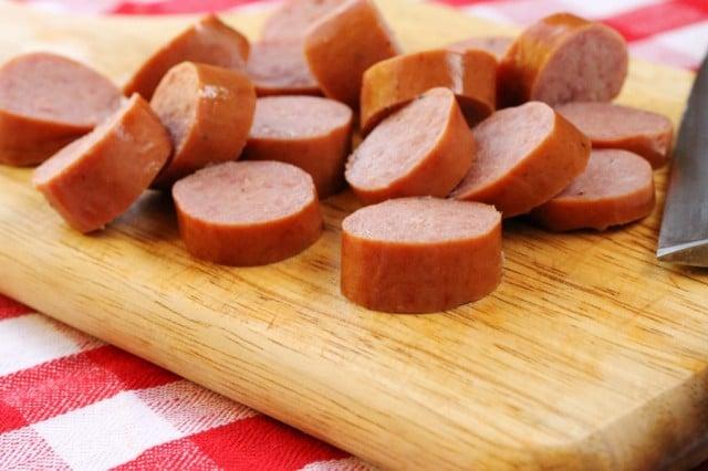 Smoked Sausage on Board