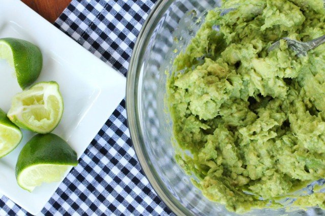 Lime Juice in Guacamole