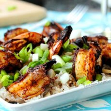 Browned Butter Grilled Shrimp