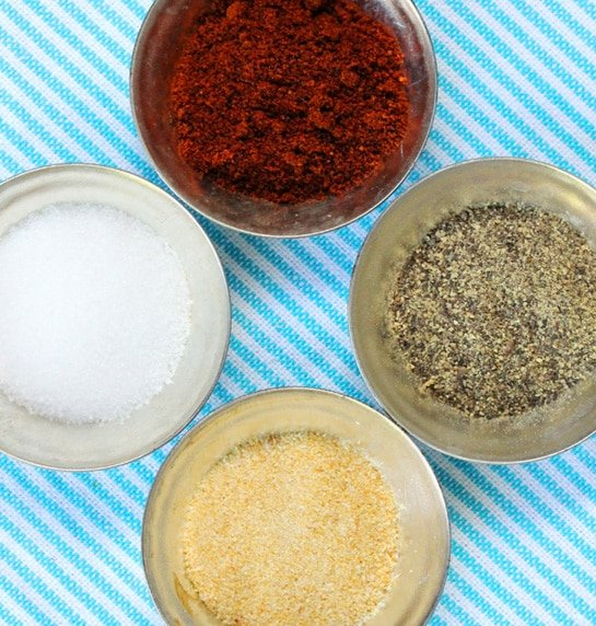Spices for Grilled Shrimp