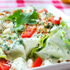 Blue Cheese Wedge Salad