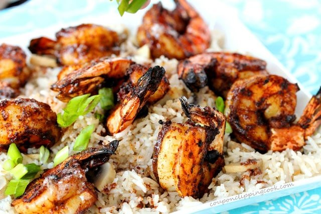 Browned Butter Shrimp with Rice