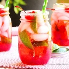 Cherry Lime Shirley Temple