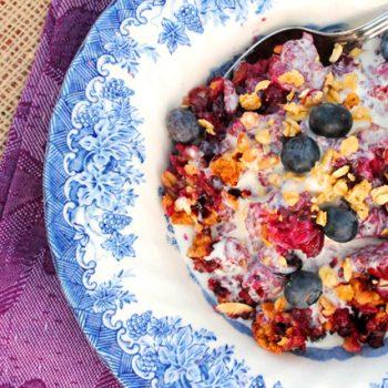 Berry Granola Crisp