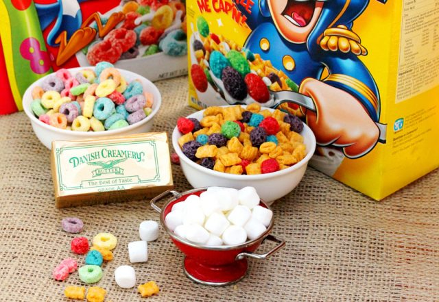 Captain Crunch Krispie Ingredients