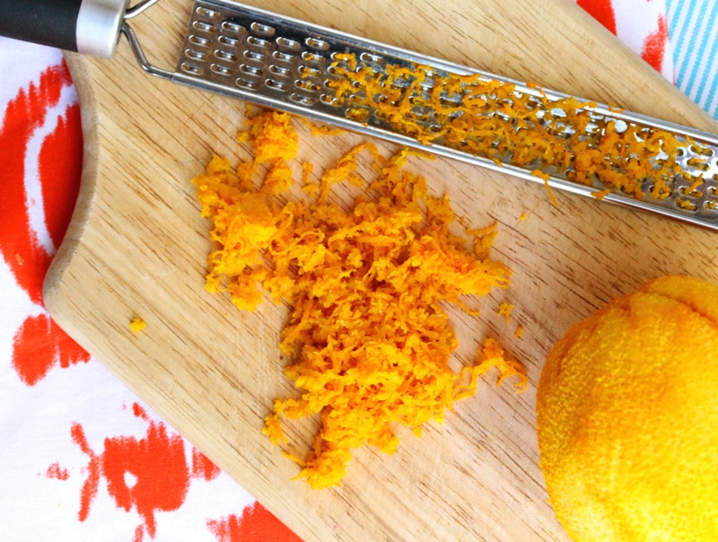 Then Zest The Orange