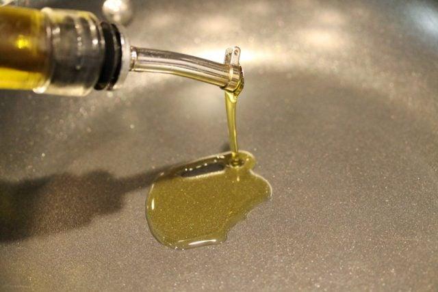 Add Olive Oil in Skillet
