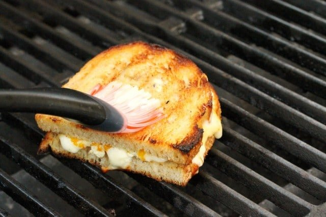 Grilled Cheese on Grill