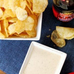 Malt Vinegar Potato Chip Dip