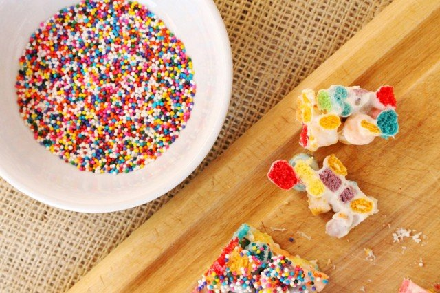 Candy Sprinkles and Cereal