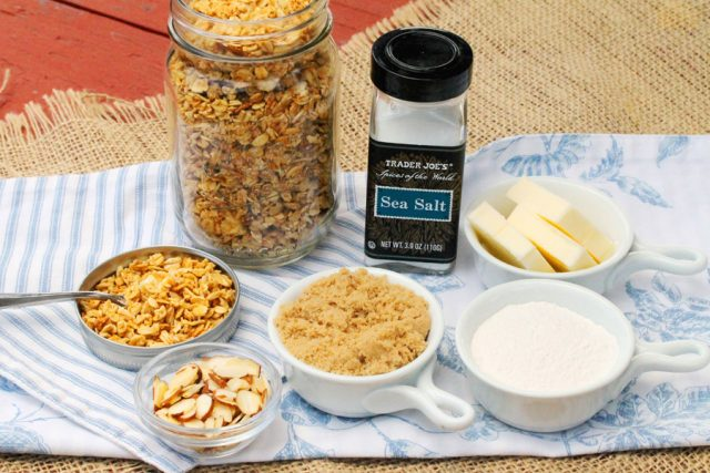 Granola Streusel Ingredients