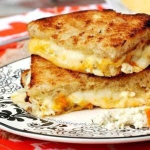Orange Zest Grilled Cheese