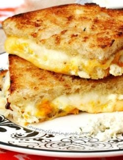Orange Zest Grilled Cheese