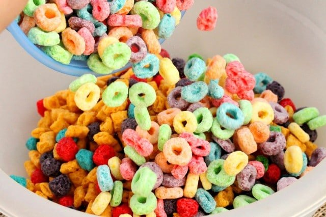 Froot Loops in Bowl