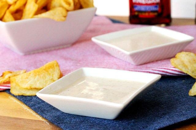 Malt Vinegar Dip in bowls