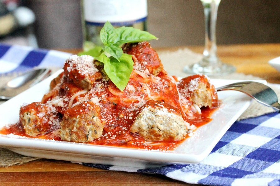 pork meatballs with pasta in tomato wine sauce coupon clipping cook