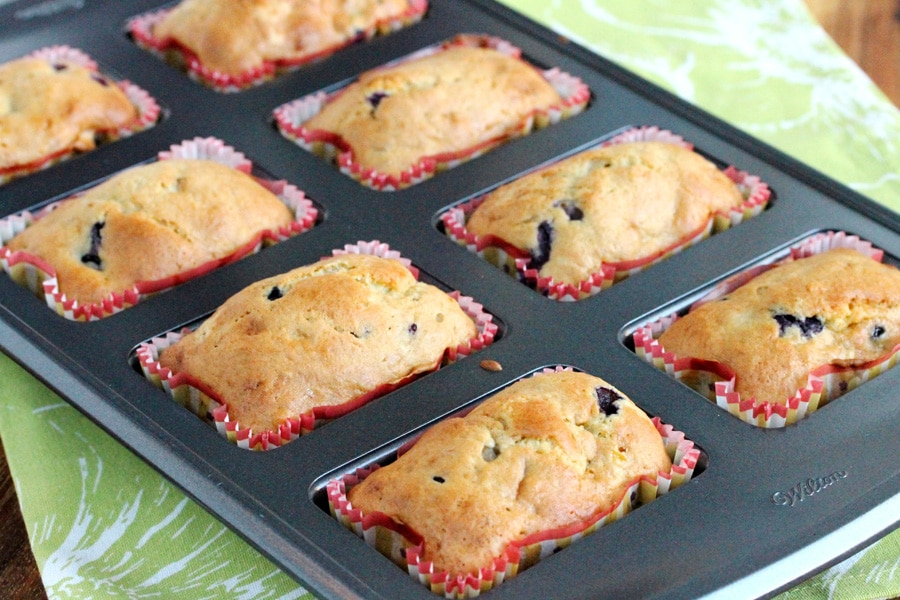 Mini Loaf Banana Blueberry Bread Coupon Clipping Cook