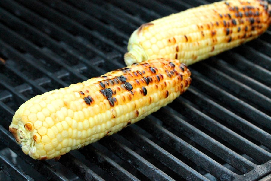Grilled Corn, Basil & Gorgonzola Cheese | Coupon Clipping Cook