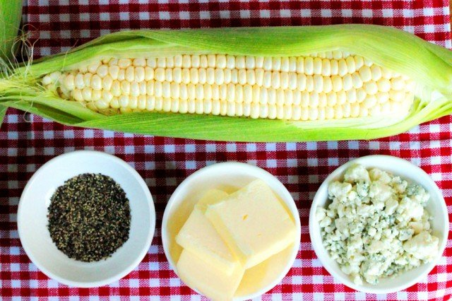 Grilled Corn Ingredients