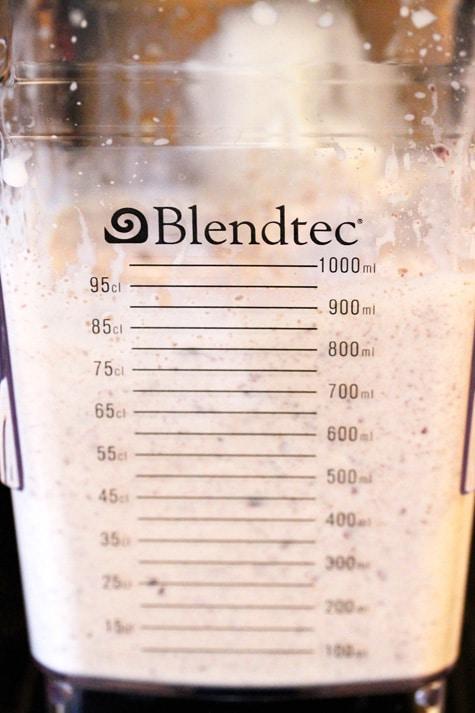 Blend Milkshake in Blender