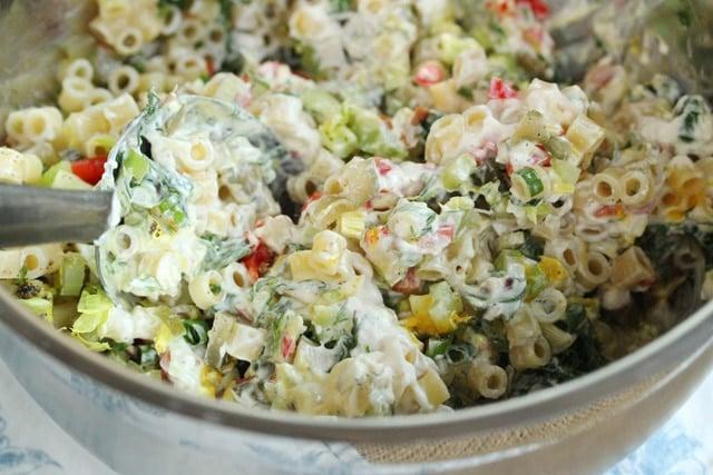 Stir Macaroni Salad