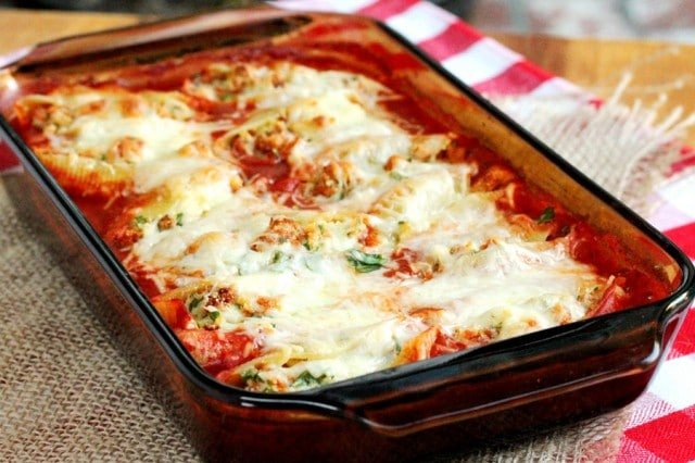 Stuffed Shells with Marinara