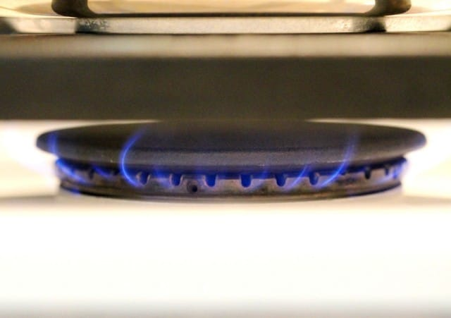 Heat Burner on Stove