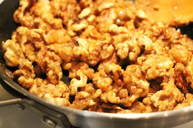 Walnuts in Pan