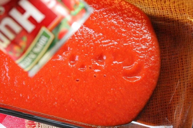 Add Tomato Sauce to Pan
