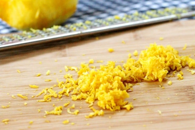 Lemon Zest on Board
