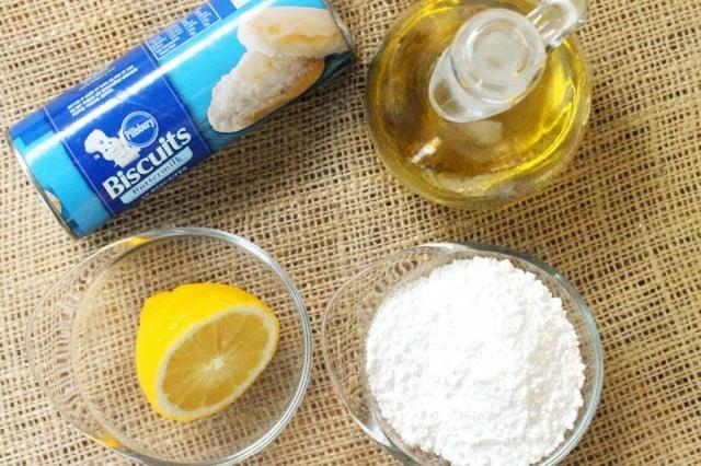Doughnut Balls Ingredients