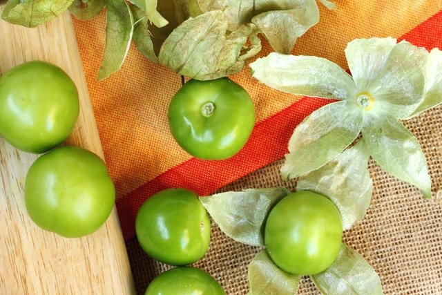 Peeled Tomatillos