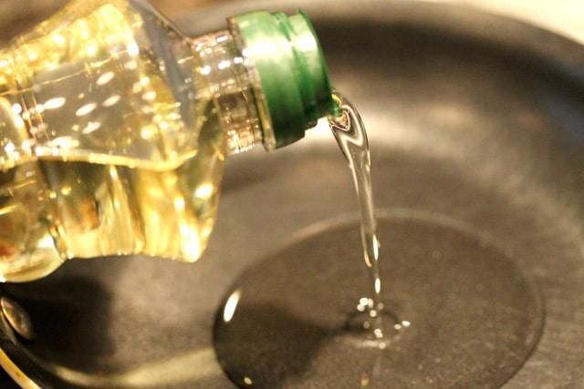 Add Canola Oil in Skillet