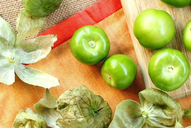 Peel Tomatillos